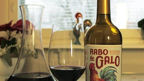 portugalilainen punaviini Rabo De Galo, Viinihetki