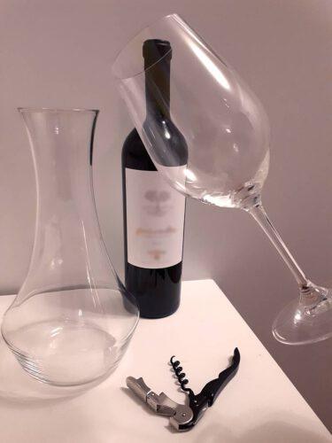 Viininmaisteluun tarvitaan viini, lasi, pullonavaaja ja, dekantteri. Viinihetki,
