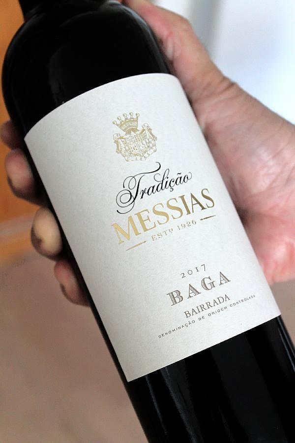 Portugalialinen punaviini Messias Tradição Baga 2017,  Viinihetki