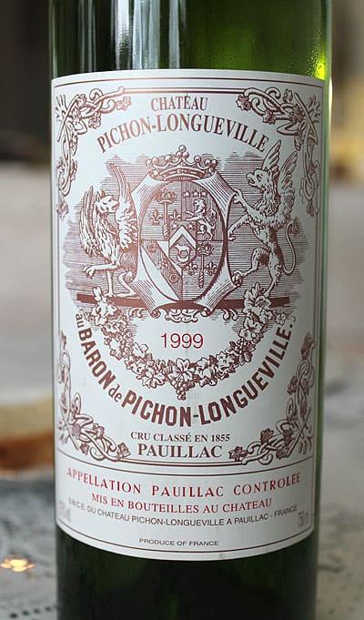 Punaviini Baron de Bichon Longueville 1999. Viinien keräily - aarteiden metsästystä, Viinihetki