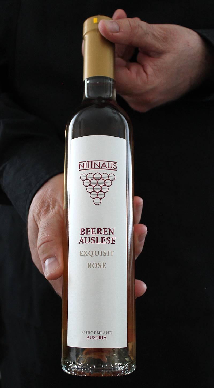 Makea valkoviini Nittnaus Beerenauslese Rosé 2015. Äitienpäivämenu. Viinihetki.