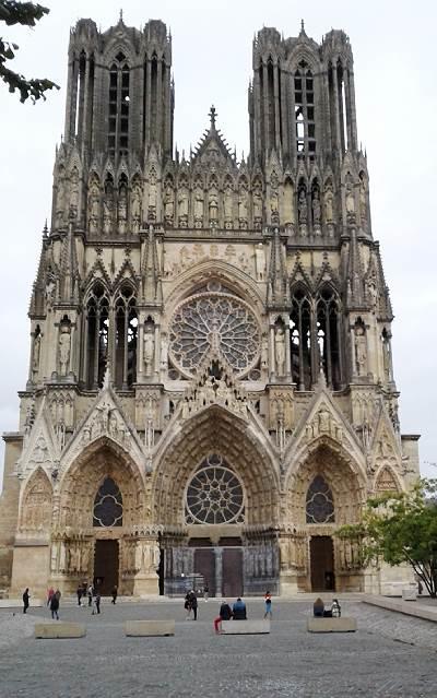 Reims Notre Dame -katedraali, Viinihetki