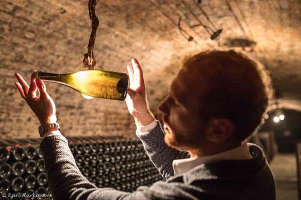 Viinikellarissa... Viinihetki