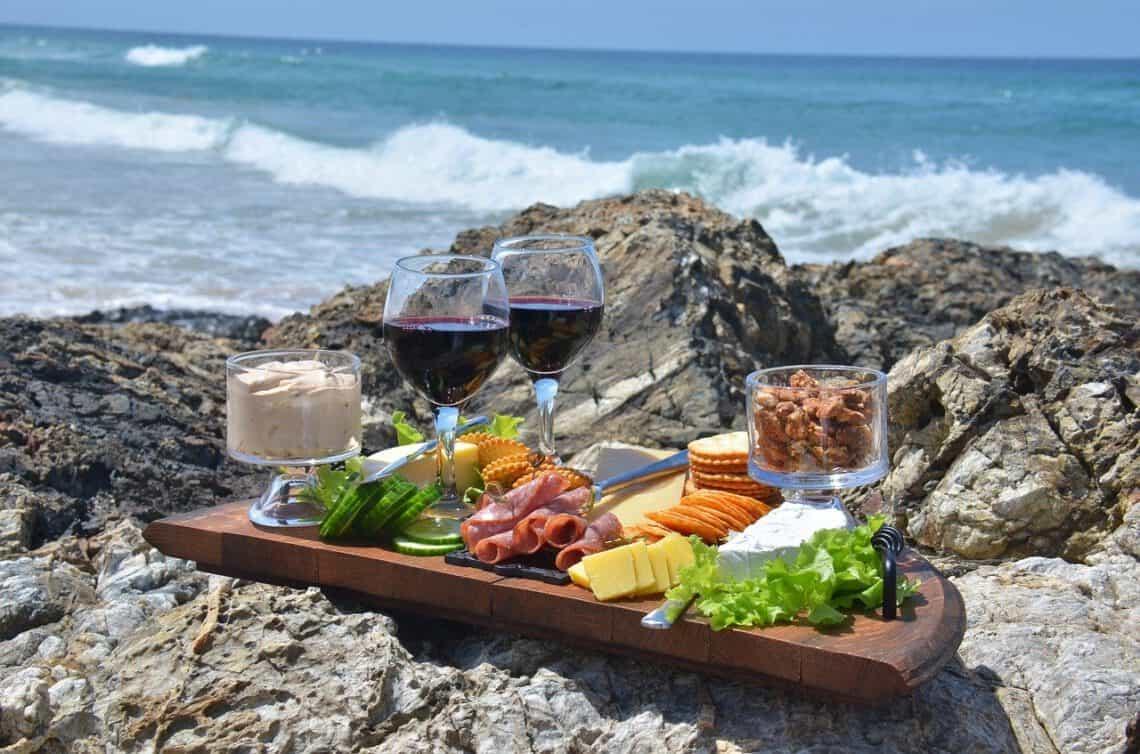 Viini ja ruoka -yhdistäminen, Viinihetki