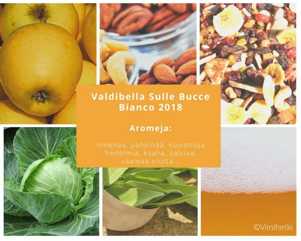 Aromikortti. Oranssiviini Valdibella Sulle Bucce Bianco 2018 ja herkkuja grillistä. Viinihetki