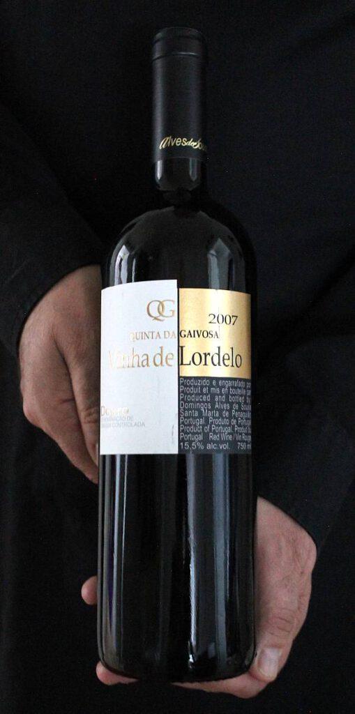 Portugalilainen punaviini Quinta da Gaivosa Vinha de Lordelo 2007, Viinihetki