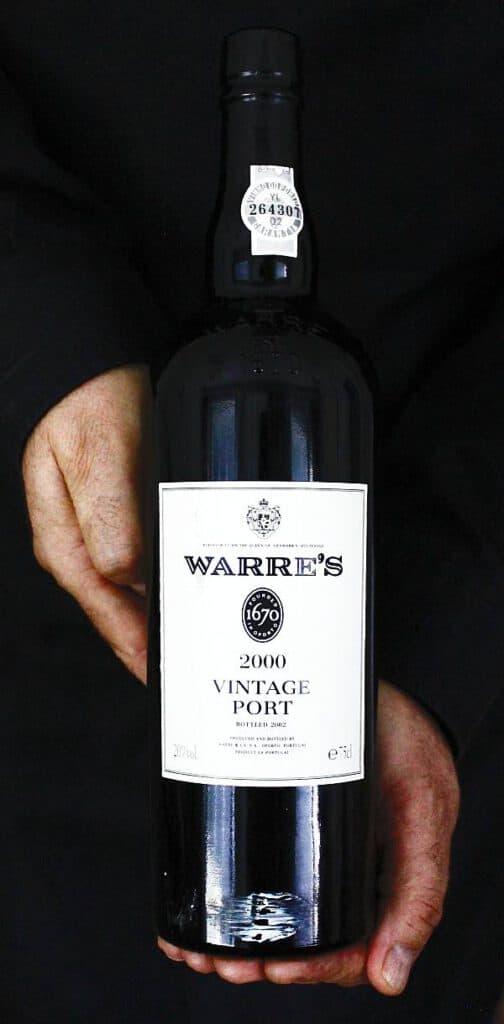 Portviini Warre´s vintage port 2000, Viinihetki