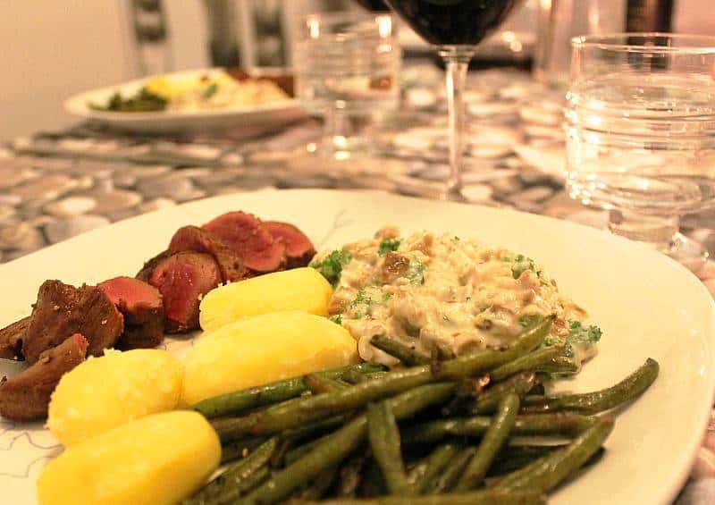 Viini ja ruoka - riistalle täyteläistä ja aromikasta viiniä. Viinihetki
