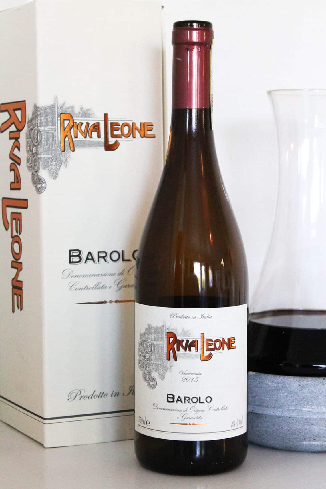 Lokakuun 2020 viiniuutuus -Riva Leone Barolo 2015