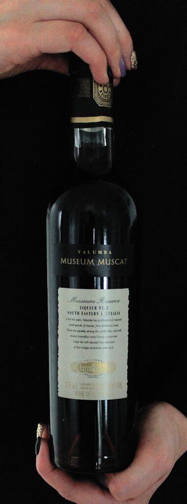 Väkevä viini Yalumba Museum Muscat. Viinihetki