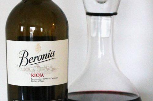 Marraskuun 2020 viiniuutuus – Beronia Gran Reserva 2011, Rioja, Espanja. Viinihetki