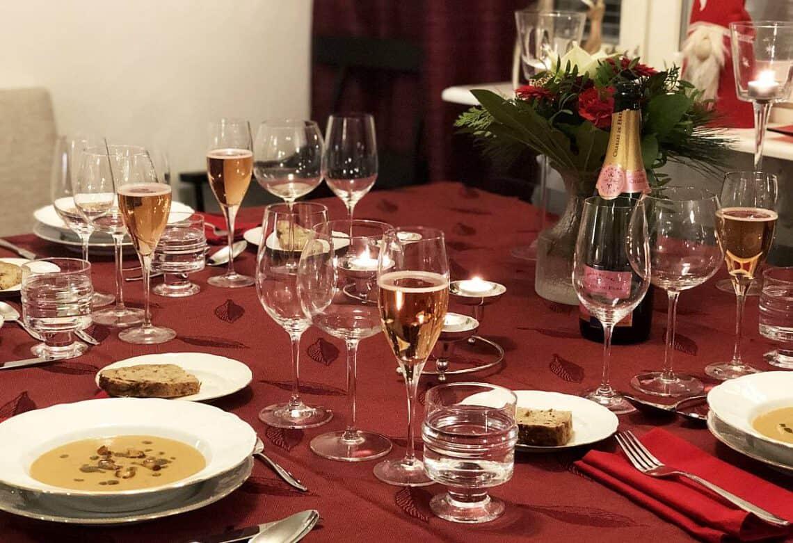 Joulupäivän menu 2020, Viinihetki