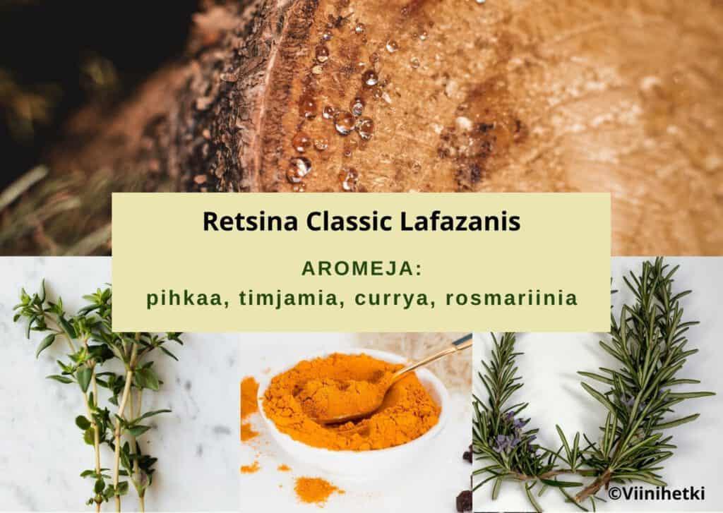 Aromikortti Retsina Classic Lafazanis (Viinihetki)