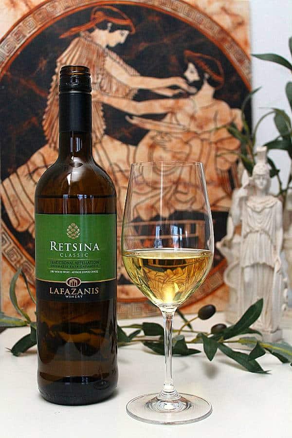 Retsina Classic Lafazanis. Viinihetki
