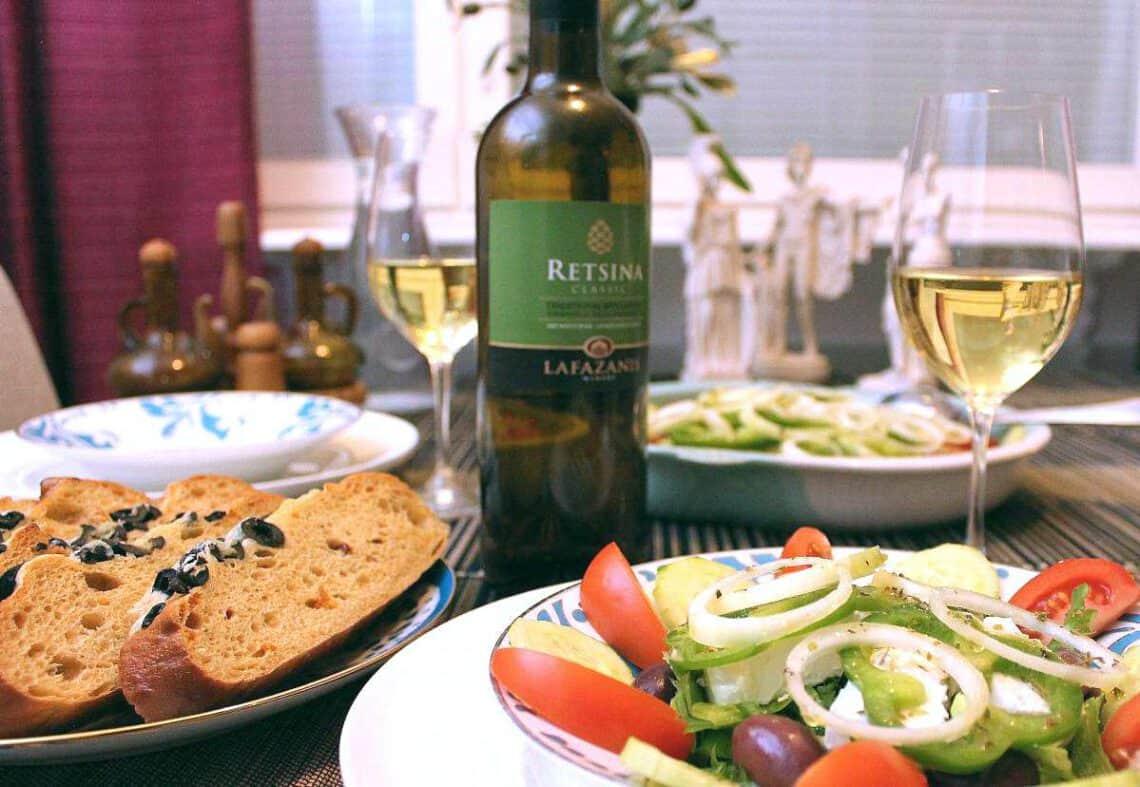 kreikkalainen viinihetki, Viinihetki