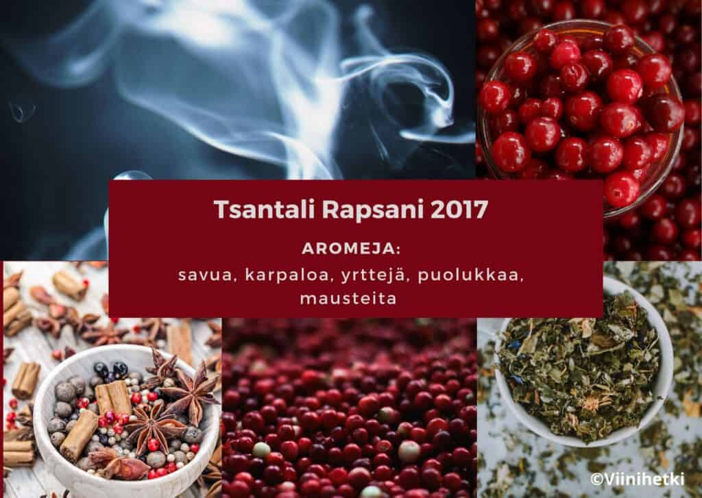 Aromikortti: Tsantali Rapsani 2017
