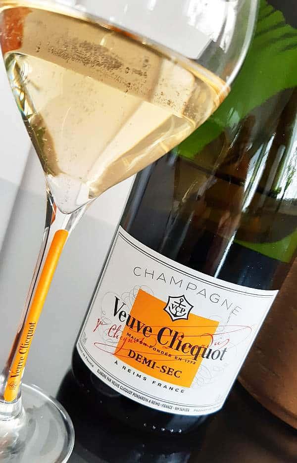 Samppanja Veuve Clicquot Demi-Sec, Viinihetki