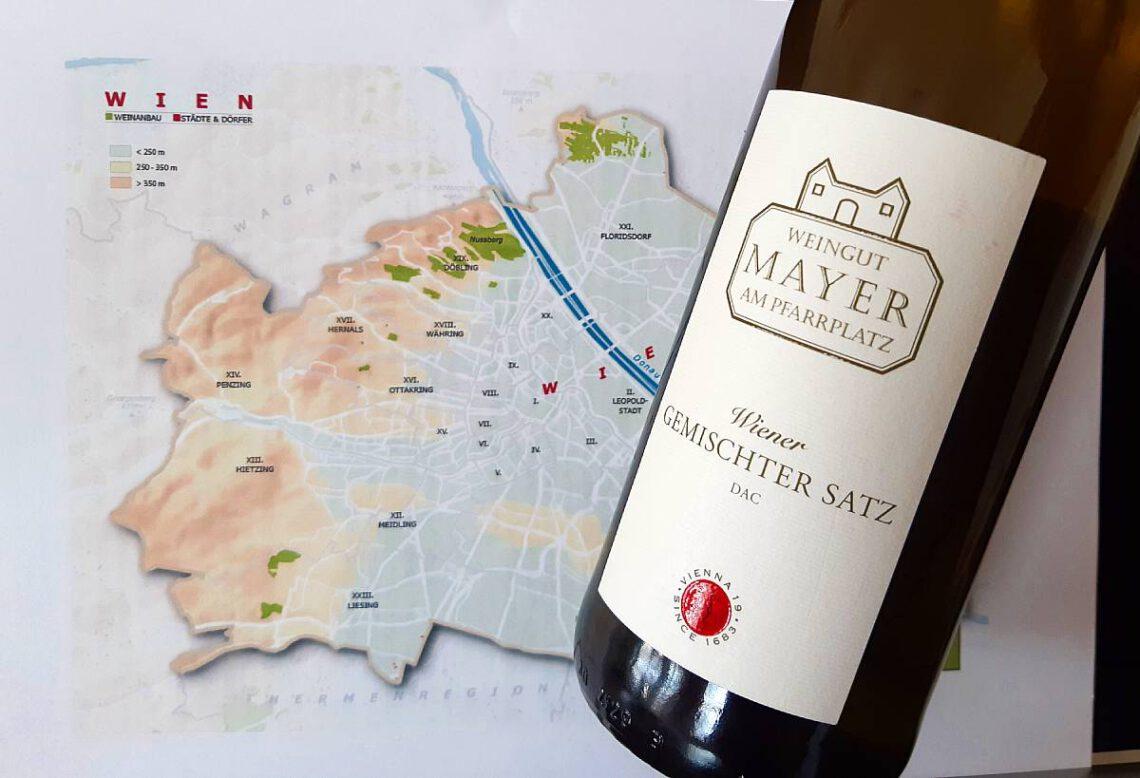 Mayer Wiener Gemischter Satz 2019, Viinihetki