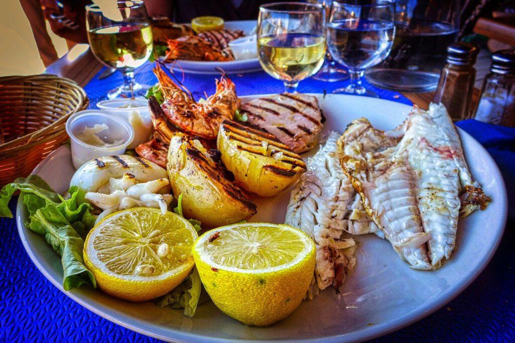 Portugalilaista ruokaa. Viinihetki