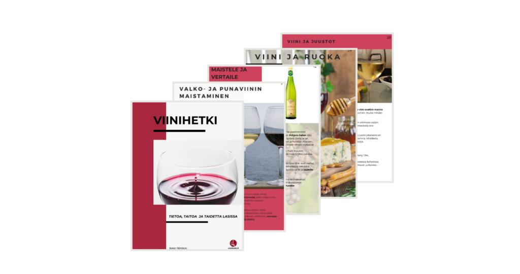 Viinihetki_tietoa, taitoa ja taidetta lasissa, e-kirja, Viinihetki