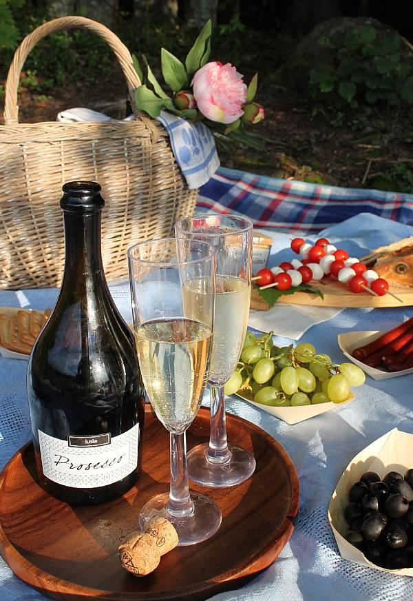 Piknik -juoma Prosecco-kuohuviini, Viinihetki